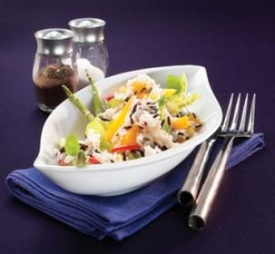exotischer Reissalat