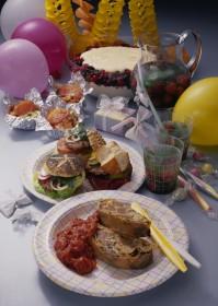 Kindergeburtstag/ Gartenfest