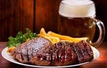 Steak und Bier