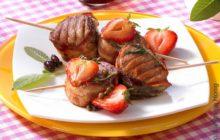 Fruchtige Filet-Pfeffer-Spieße