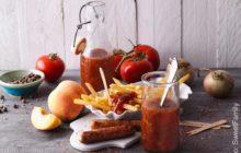Tomaten-Pfirsich-Ketchup